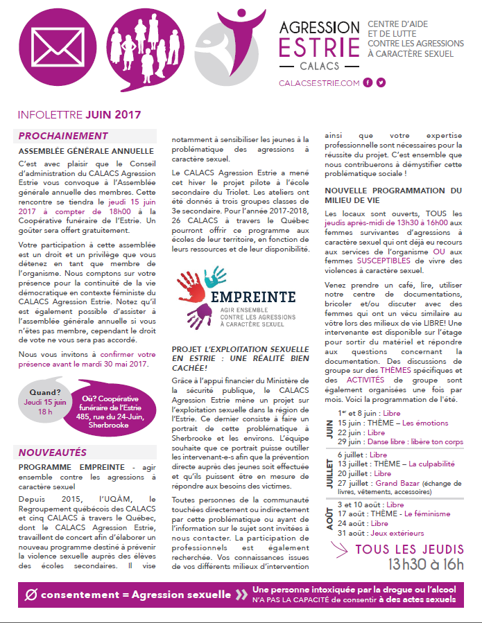 infolettre page 1